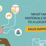 What marketing materials should I take to logistics events?