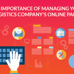 Managing your logistics company's online pages